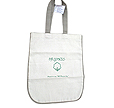 Bleached white natural cotton canvas bags are available in USA. We make them here in India.